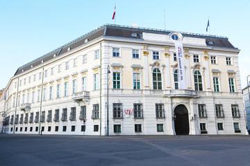 Chancellor office in Vienna