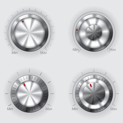Metallic volume controllers