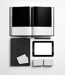 Set of identity elements
