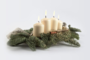 Weihanchten, Kerzen - Christmas candles