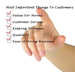 Most Important Things To Customers