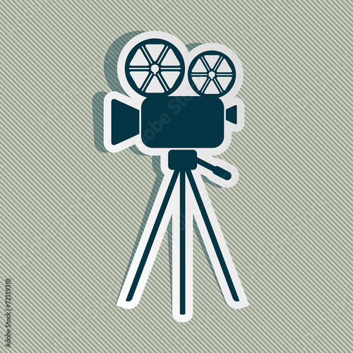 Ikona kamery filmowej