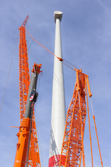 Aufbau eines Windrades