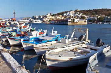 Greece. Crete. Elounda Quay