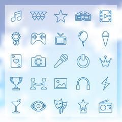 25 entertainment icons