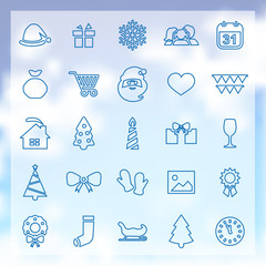 25 new year icons