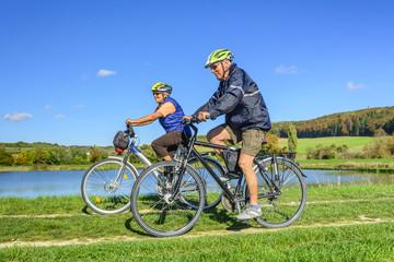 Senioren-Radtour im Herbst