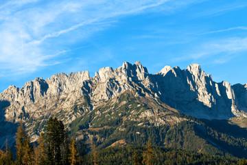 Wilder Kaiser im Herbstlicht - Hochgebirge