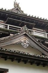 丸岡城の懸魚
