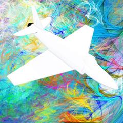 aereo bianco