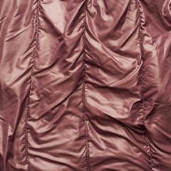 Brown down jacket fragment