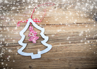 Tradition Christmas decorations background