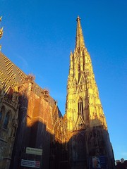 St.Stephen's Cathedral with sunshine