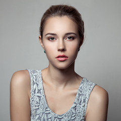 Beautiful Woman. Fashion Portrait.