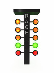 Sport traffic light