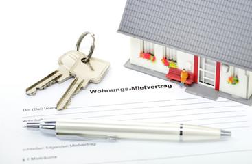 Vermietung Immobilie Mieten Mietvertrag