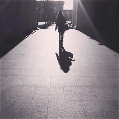 тень от солнца