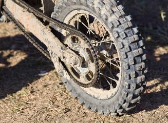 Mud motorcycle tire