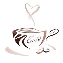 Ikona filiżanki kawy