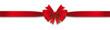 Red single ribbon