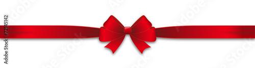 Red Ribbon loop - 72145142
