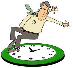 Fall back daylight savings time