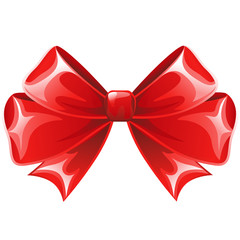 Simple red Ribbon