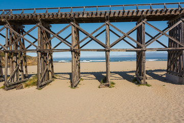 Pudding Creek Trestle, Fort Bragg, California