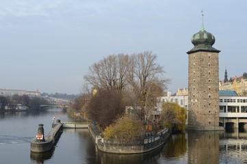 Prague. Vltava River