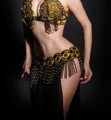 Arabian belly dancer sexy woman dancing bellydance
