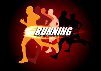 the Runners are running for the winner