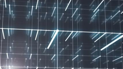 3d cube particles