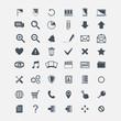 Vector  basic Web icons  big set
