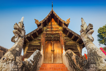 Wat Ton Gwan,Temples in Chiang Mai, Thailand.