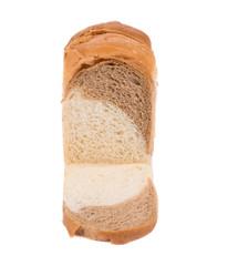 White brown bread.