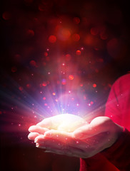mystery of Christmas - giving light and magic