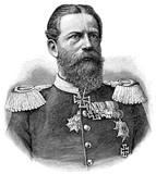 Portrait of Frederick III, German Emperor. poster