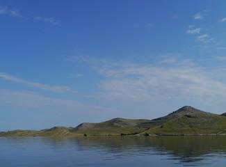 The island Kornat in the Kornati national park