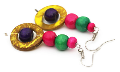Traditional earrings of Indian subcontinent