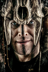 face of warrior
