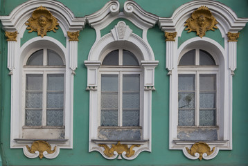 Windows from Saint Petersburg