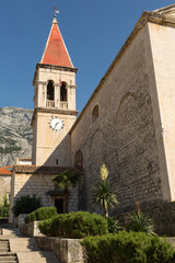 Clocher-Campanile de l'église de Makarska