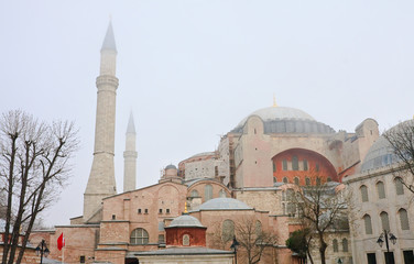 Cathedral of St. Sophia (Hagia Sophia). Istanbul, Turkey
