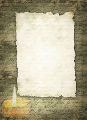 Briefpapier Gerissenes Blatt