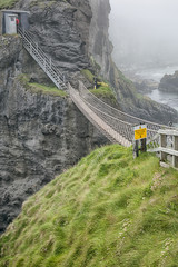 rope bridge at carrick a reed