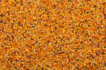 honey pollen background