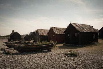 Schwedisches Fischerdorf