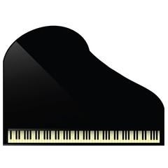 black grand piano icon