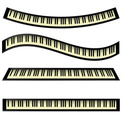 set of keyboards