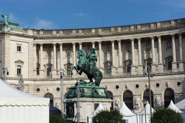 Hofburg Palace in Vienna